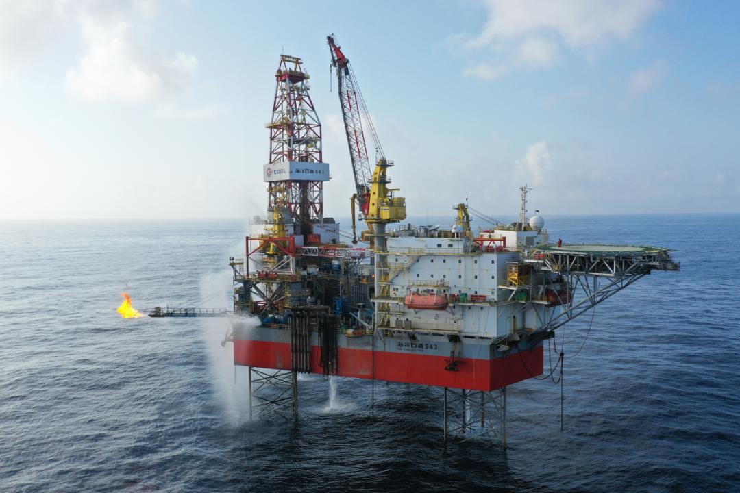 中国珠江口盆地再获重大油气发现