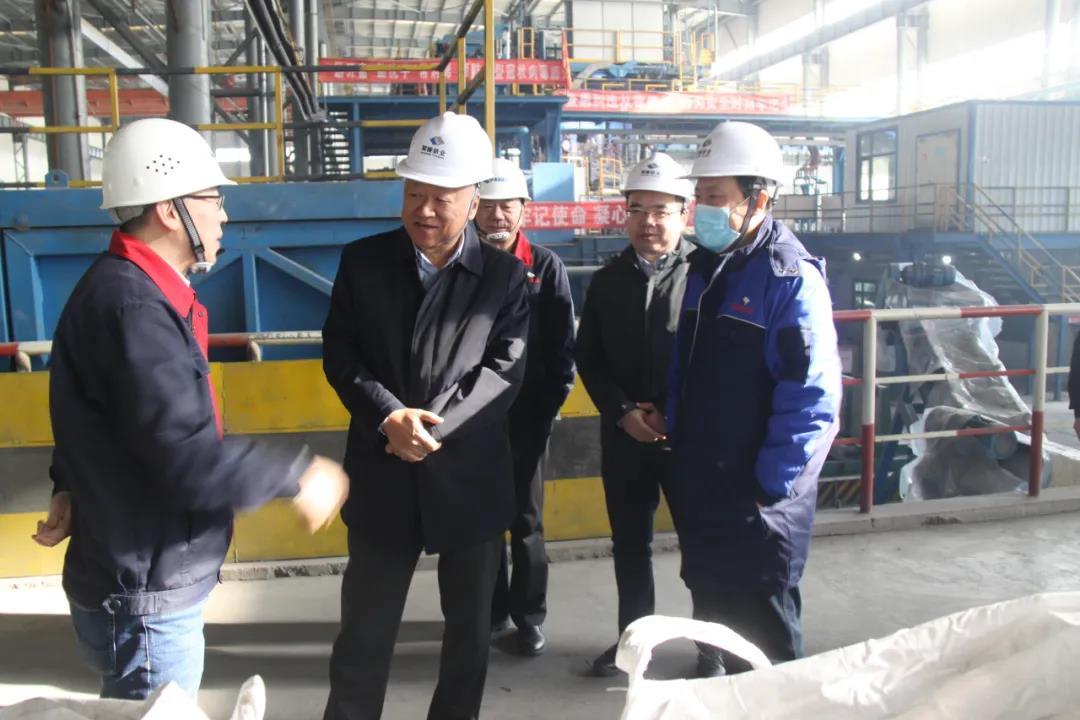 钛业资讯青海水电集团领导莅临聚能钛业慰问员工加油鼓劲