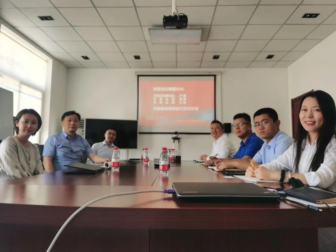 美国SMC中国区销售总监卢峰一行到访格瑞集团交流考察