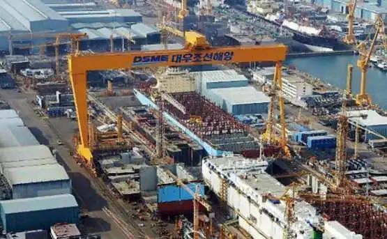 韩国造船业订单爆满,但第二季度收益并不乐观